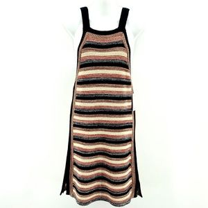Free People Dresses - NWT Free People Black Comb Stripe Dress - Size XS